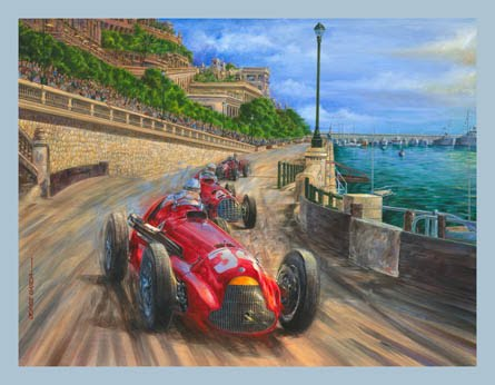 Juan Manuel Fangio-´50 Monaco
