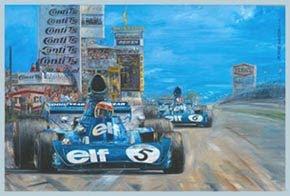 Jackie Stewart-Tyrrell 005 Cosworth