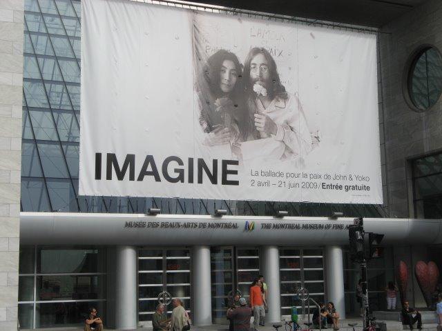 21 Juin, 2009 - John Lennon - Musée Des Beaux Arts