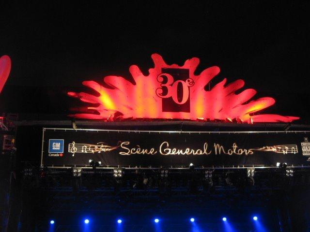 4 Juillet, 2009 - Festival de Jazz de Montréal, 30 iéme anniversaire