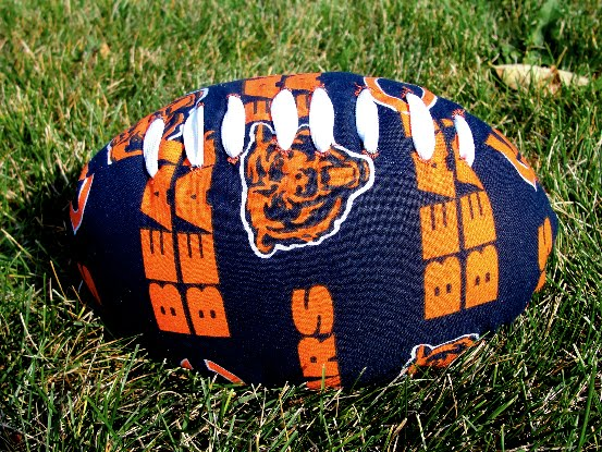 Sewing Pattern Football Pillow: The Pursuit of Happiness  Sew a Stuffed Football,