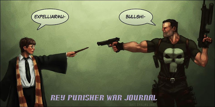 Rey Punisher WAR JOURNAL