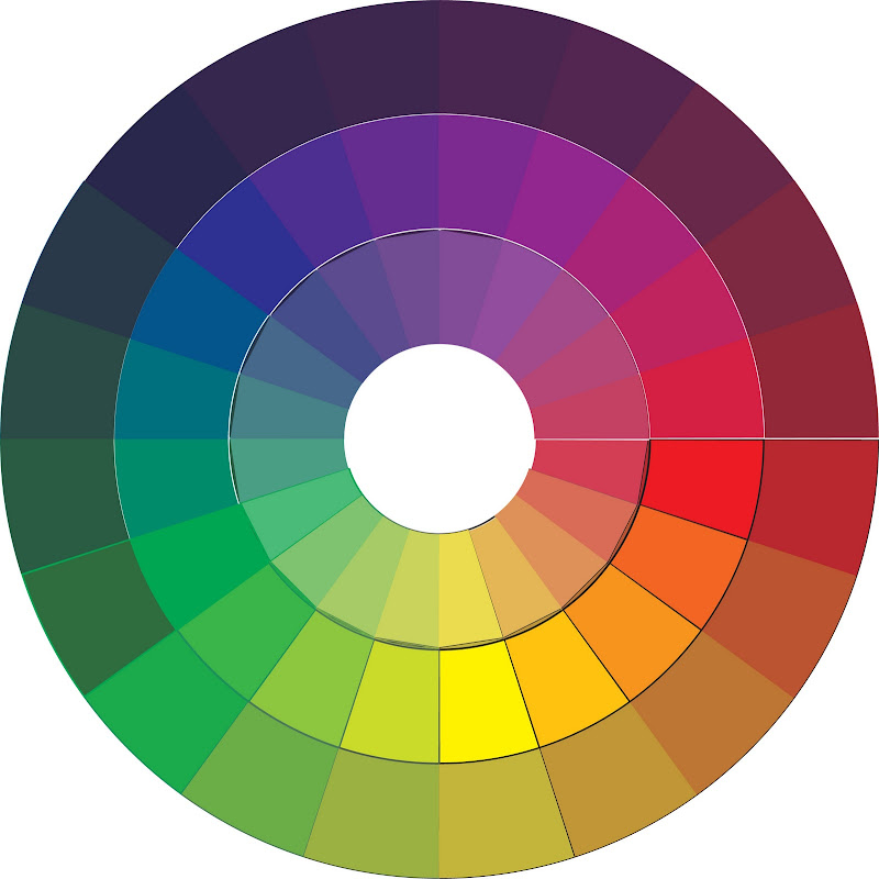 Color Wheel Print Out Pictures To Pin On Pinterest