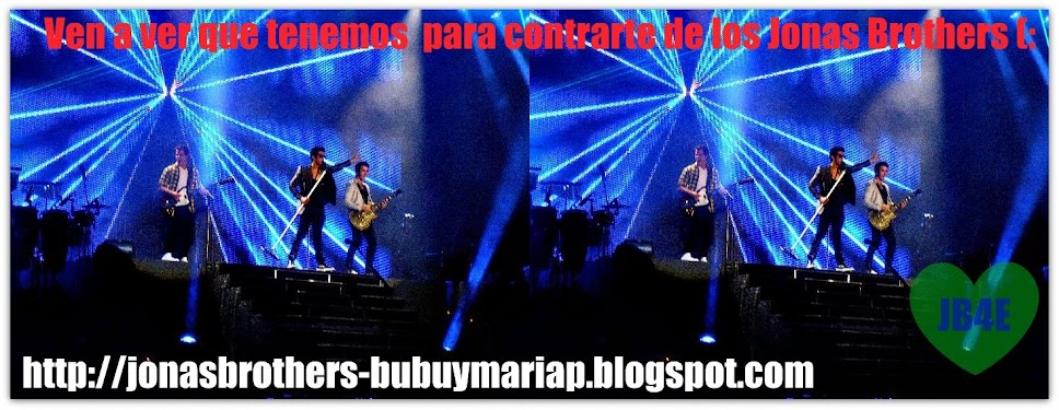 The Jonas Brothers (:
