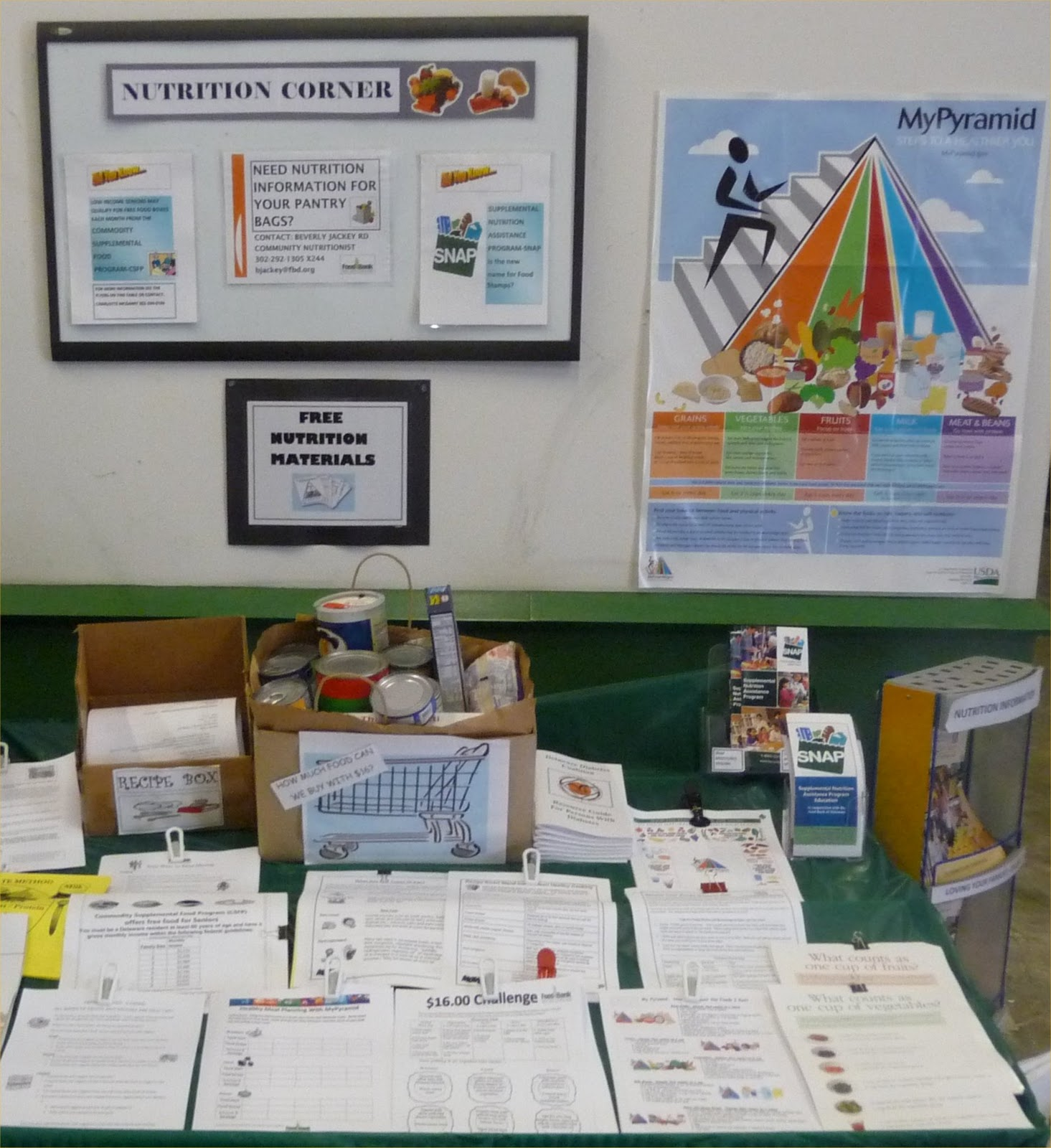 Check Out Mypyramid To See Materials Such As Posters, Multimedia  Presentations, And Interactive Tools The Food Bank Uses These Materials In  Their