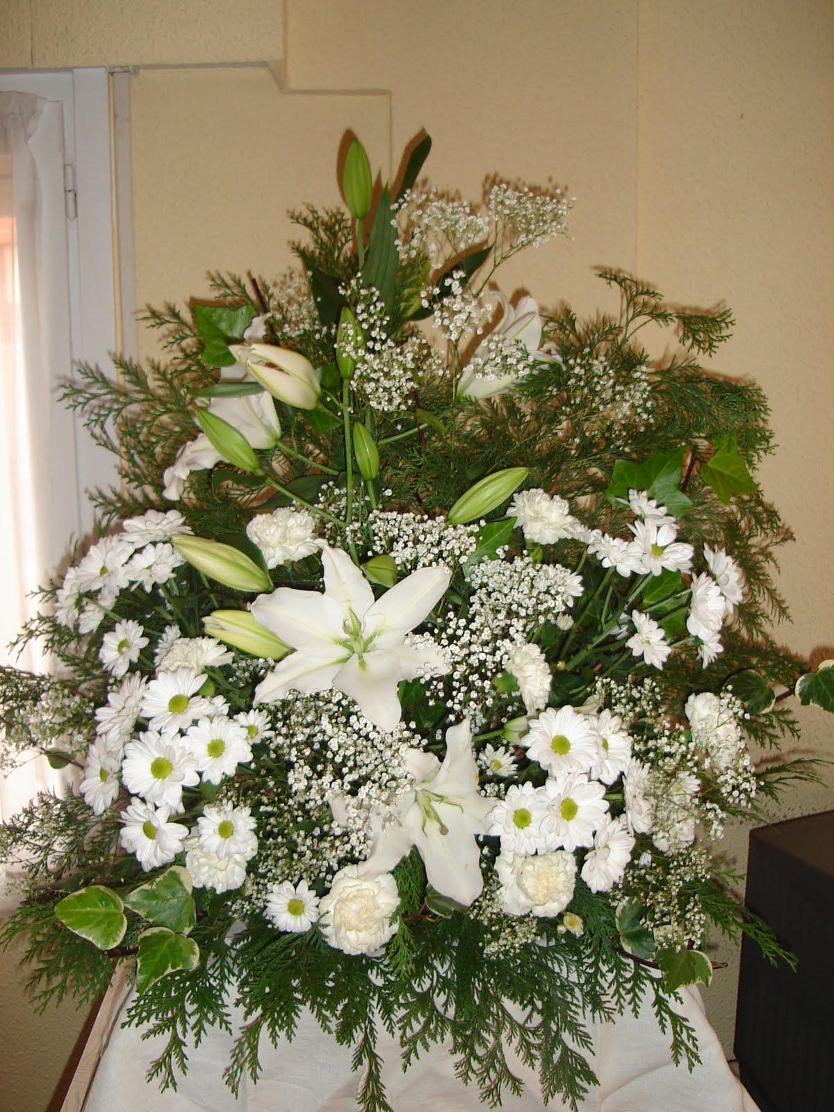 Flores naturales centro boda - Centro de flores naturales ...