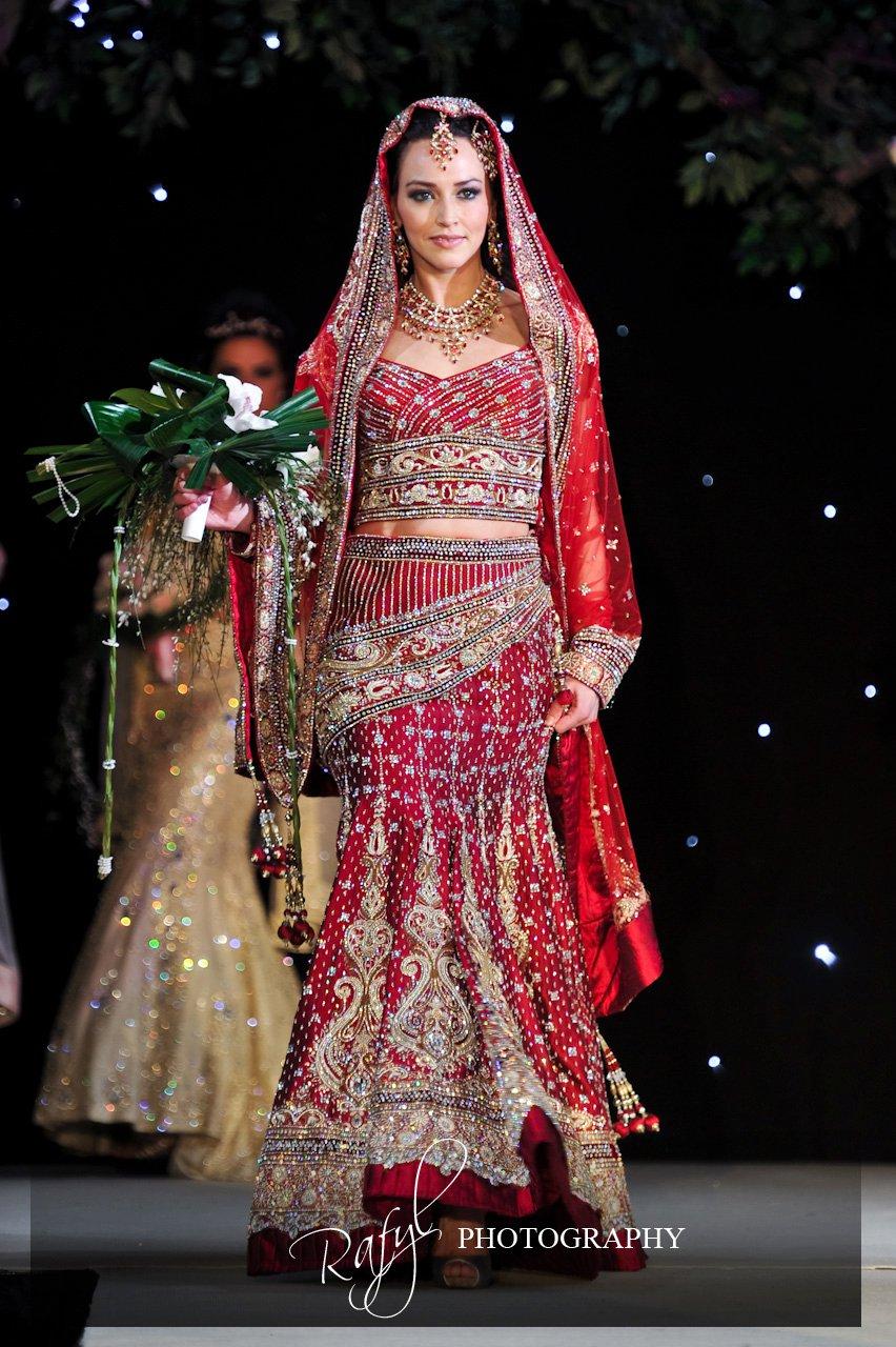 Asian bridal fashion show 12