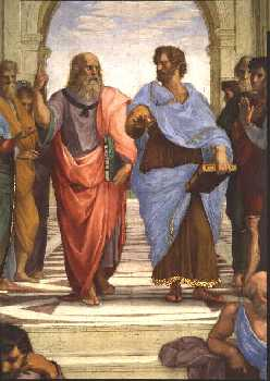 platos and aristotles views on knowledge Impacts of scientific knowledge and technology on human society and its   the geocentrism of the aristotle world is a result of the aristotelian theory of.