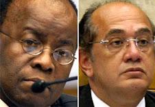 "A ""briga"" entre Joaquim Barbosa e Gilmar Mendes no Supremo Tribunal Federal"