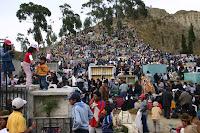 Cimetiere La Paz Obrages Bolivie Novembre 2006