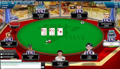 Big action at Full Tilt Poker