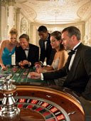 Crowded Roulette Table Photo