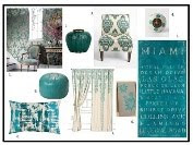 Turquoise Mood Board