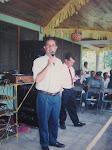 Alcalde Oscar Berger ( 1991 - 1999 ) inaura agua potable 1993