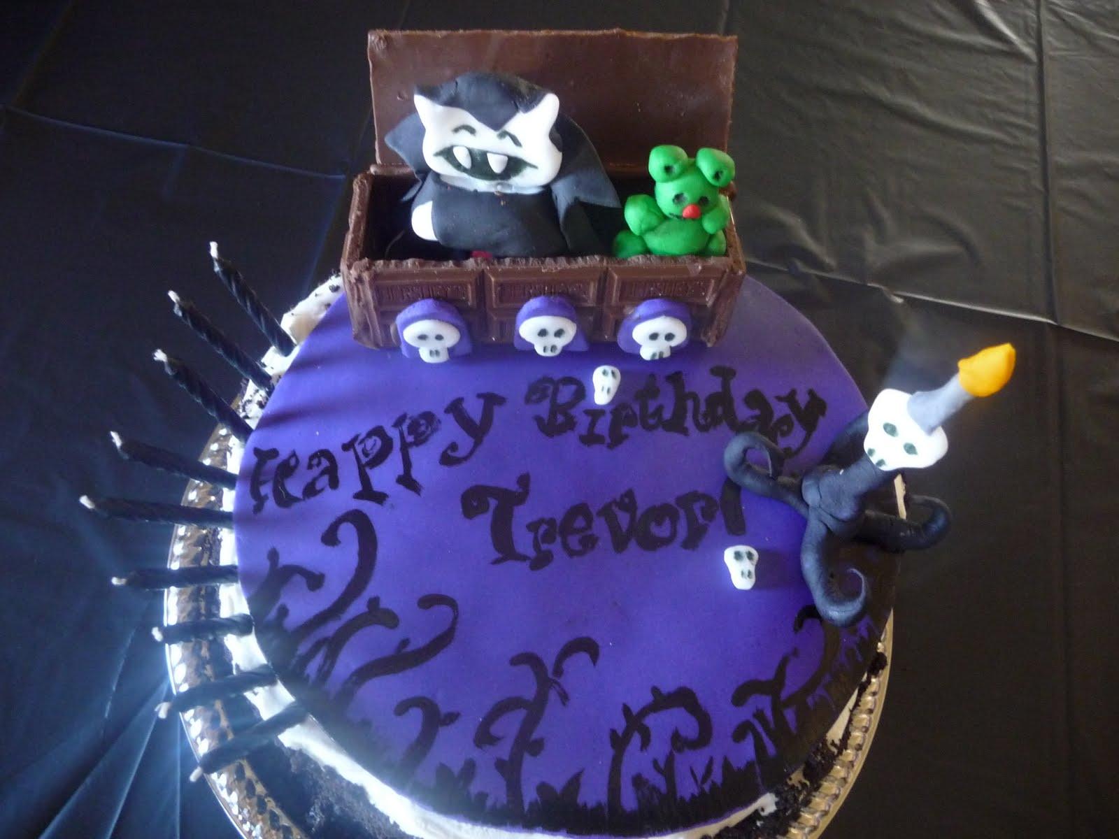 Dreaming In Buttercream Cute Vampire Cake