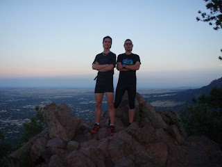 Bryon Powell and Martin Gaffuri Mount Salinas Boulder Colorado