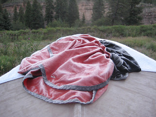 Red Cliff Colorada frozen shorts