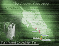 The Coastal Challenge Rain Forest Expedition Run