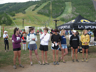 Jupiter Peak Steeplechase womens leaders