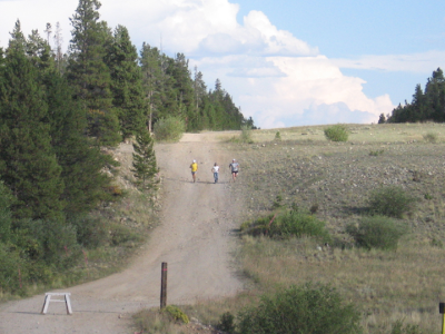 Leadville 100 mile 2009 Garett Graubins Devin Gardiner Holly