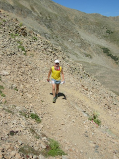 Leadville 100 mile 2009 Garett Graubins Hope Pass