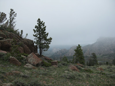 Vedauwoo with clouds