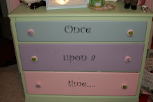 A dresser makeover for my daughter....