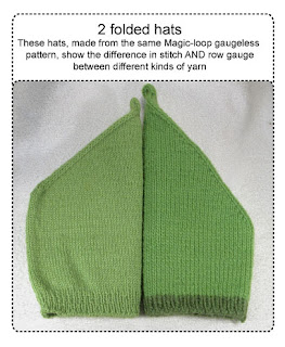 2 folded hats
