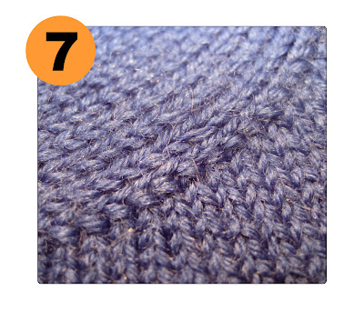 TECHknitting: A useful increase: knit into the front, knit into the back of t...
