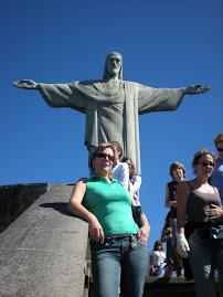 Cristo Redentor...braços abertos...sobre a Guanabara...julho/2008