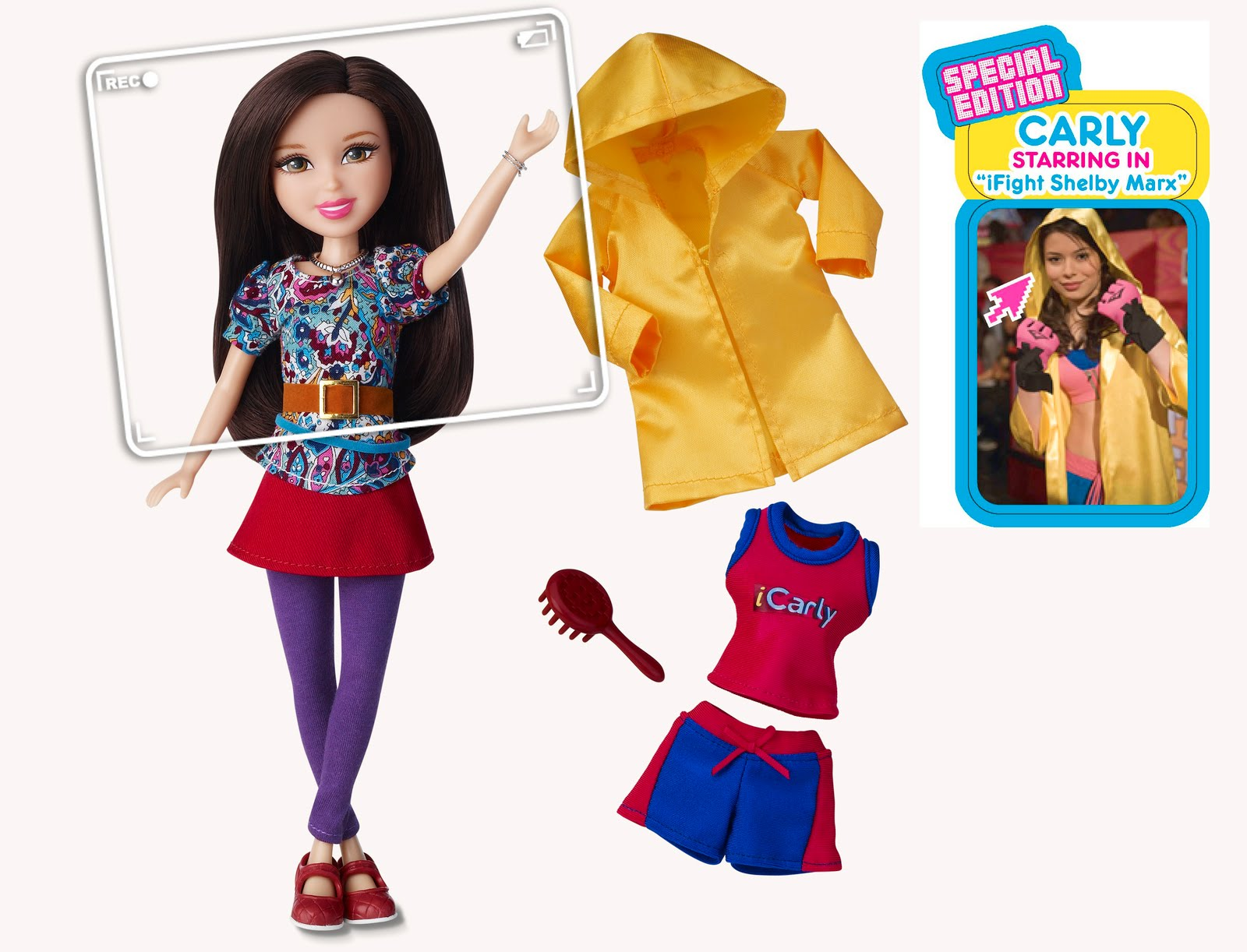 New ICarly Toys Review And Giveaway Closed