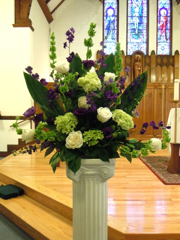 Wedding Flowers Katie and Andy 39s Purple and Green Ceremony and Reception