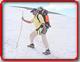 Jo on a hiking trail...