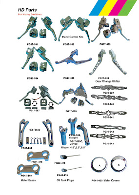 Harley Davidson Motorcycle Parts and Accessories