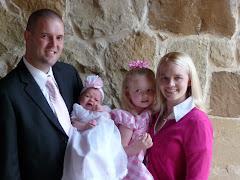 Benjamin Van and Amy Christensen Cosby Family