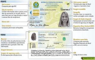 Nova Carteira de Identidade