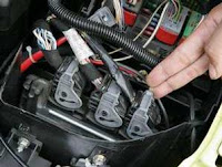cars world carefully removing the battery peugeot 307. Black Bedroom Furniture Sets. Home Design Ideas