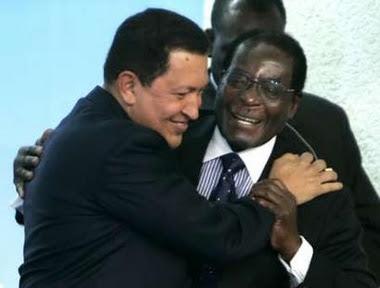 Mugabe y Chavez