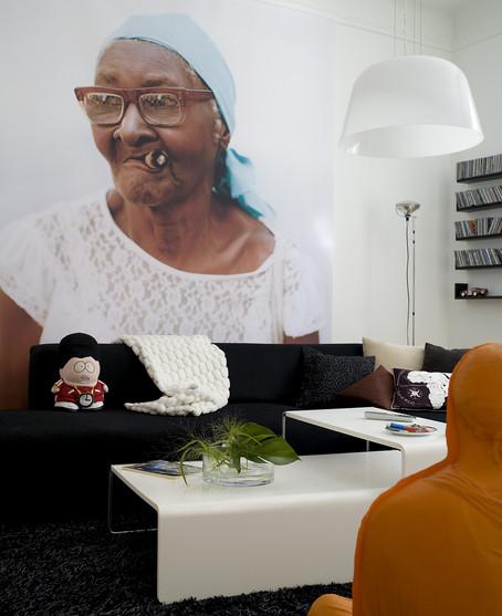 La dame cubaine au cigare