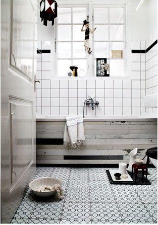 La Maison d'Anna G.: Une salle de bains