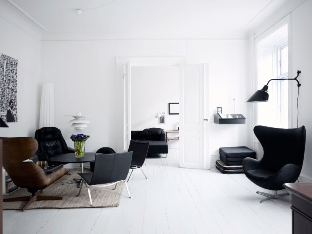 Icones du design danois anna g for Chambre design danois
