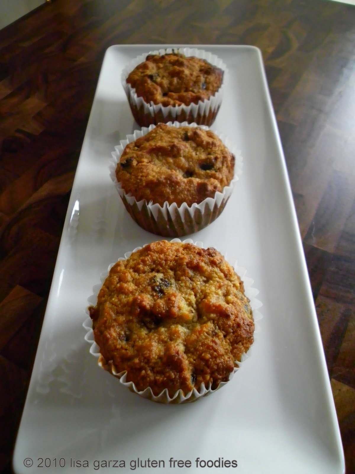 Gluten Free Almond Hazelnut Pear Fig Muffins - Gluten Free Foodies