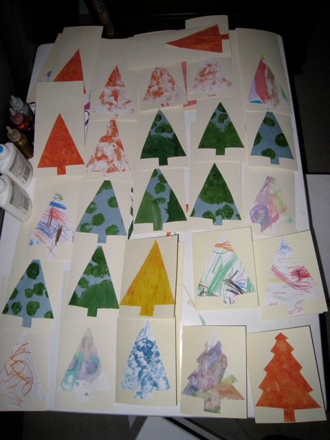 The gladdest thing under the sun do it yourself christmas cards do it yourself christmas cards aka we all make mistakes solutioingenieria Images
