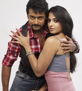anushka and surya in singam