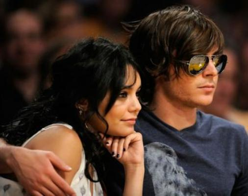 zac efron and vanessa hudgens kissing. vanessa hudgens and zac efron