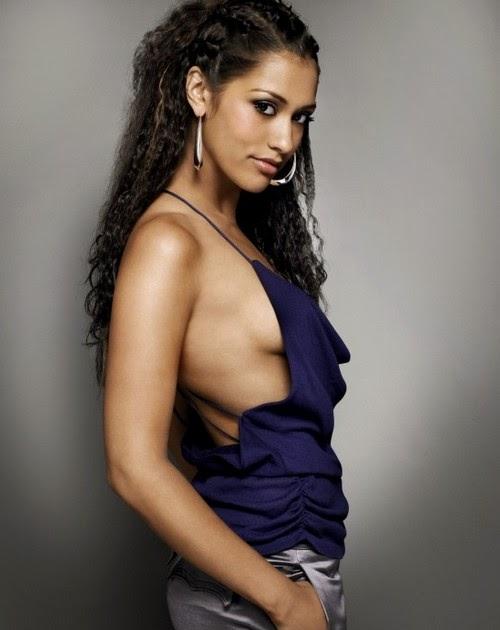 Janina Gavankar Hot Cute Pics Celebrity Sexy