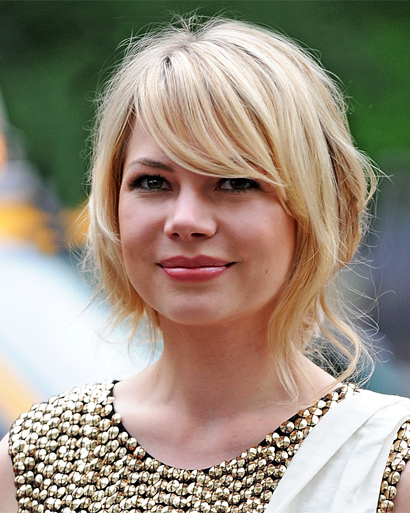 michelle williams short hair images. hairstyles michelle williams