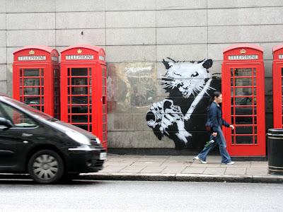 Erratic Phenomena Banksys Rat Appreciation
