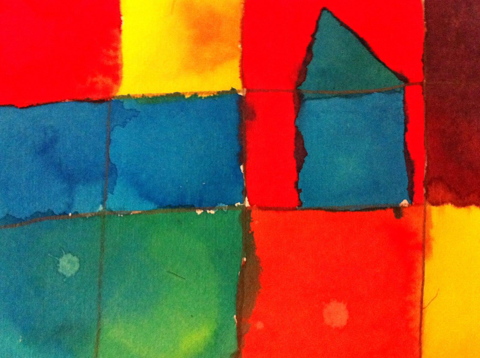 Parent Art Docents Paul Klee The Color Wheel