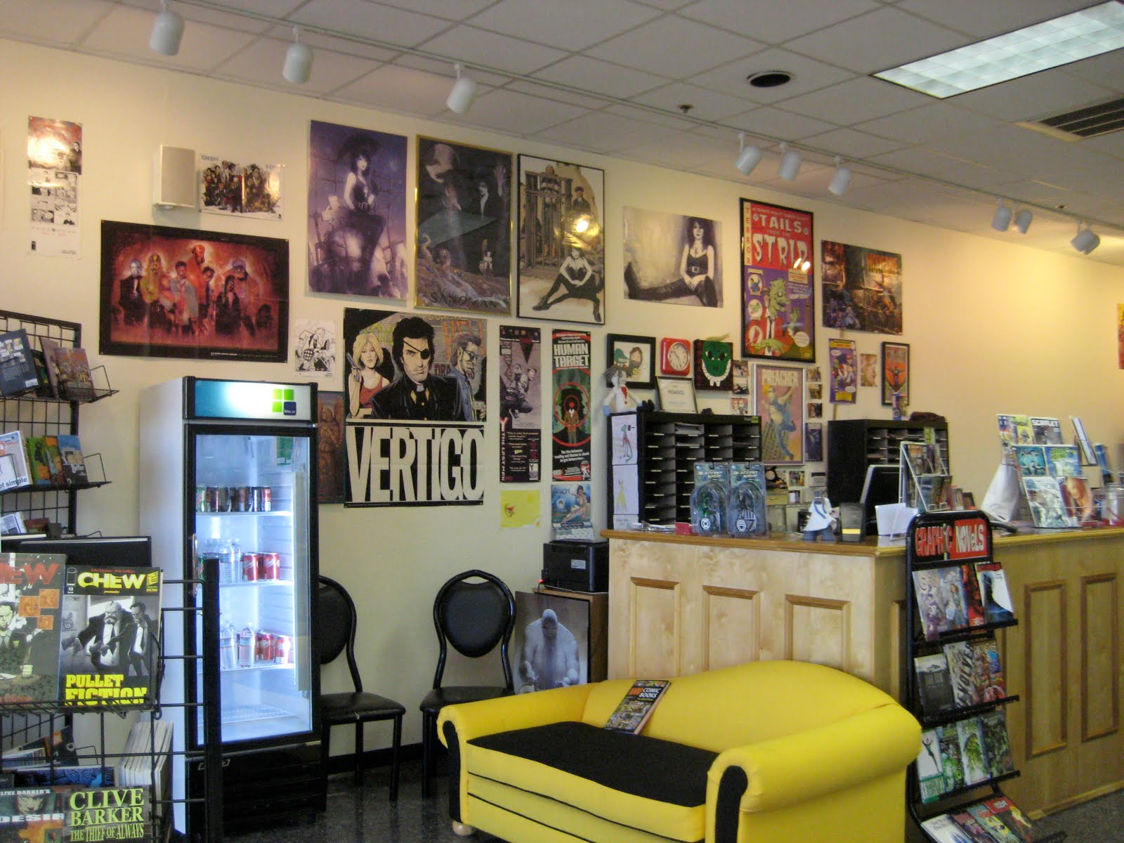 Wall Decor Stores Ich Liebe Comics  New Store Location Wall Decor